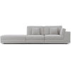 This item: Perry Gris Fabric Sectional Sofa