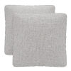 This item: Perry Gris Fabric Throw Pillow, Set of Two