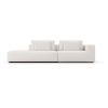 This item: Spruce Chalk Fabric Right-Arm Sectional Sofa with End Unit