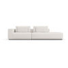 This item: Spruce Chalk Fabric Left-Arm Sectional Sofa with End Unit