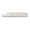This item: Spruce Chalk Fabric Right Arm Sectional Sofa with End Unit