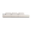 This item: Spruce Chalk Fabric Left Arm Sectional Sofa with End Unit