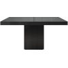 This item: Beech Black Glass 59-Inch Dining Table