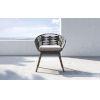 This item: Jesper Dark Gray Cord Outdoor Dining Chair