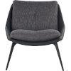 This item: Columbus Dark Shadow Fabric Lounge Chair