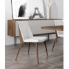This item: Orchard White Leather Dining Chair