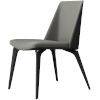 This item: Orchard Warm Gray Leather Dining Chair