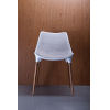 This item: Langham Oatmeal Fabric Dining Chair