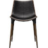 This item: Langham Aged Onyx Leather Dining Chair