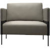 This item: Allen Opala Leather Lounge Chair