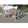 This item: Essence Mouse Grey Outdoor Dining Set, 9-Piece