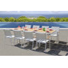 This item: Essence White Outdoor Dining Set, 9-Piece