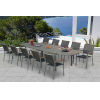 This item: Essence Pewter Outdoor Dining Set, 11-Piece