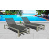 This item: Essence Seagull and Pewter Outdoor Chaise Lounge Set, 3-Piece