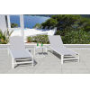 This item: Essence Mouse Grey Outdoor Chaise Lounge Set, 3-Piece