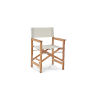 This item: Director White Teak Folding Outdoor Chair