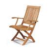This item: Devon Nature Sand Teak Teak Outdoor Folding Armchair