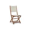This item: Stella White Teak Outdoor Folding Chair