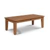 This item: Grande Nature Sand Teak Rectangular Teak 16-Inch Height Outdoor Coffee Table