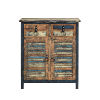 This item: Calypso Colorful 2 Door 2 Drawer Accent Cabinet