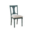 This item: Willow Teal Blue Side Chair, Set of 2