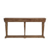 This item: Benjamin Weathered Driftwood Console Table