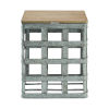 This item: Jayce Galvanized Side Table