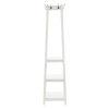This item: Aria White Coat Rack