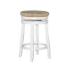 This item: Morgan White Counter Stool