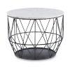 This item: Eliana Gunmetal Wire Side Table