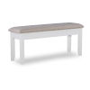 This item: Jane White and Brown Bench