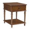 This item: Mcghie Hazelnut Brown Side Table