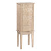 This item: Eliel Natural Jewelry Armoire