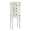 This item: Rome Off White Jewelry Armoire
