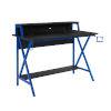 This item: Ian Black Blue Desk