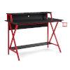 This item: Ian Black Red Desk