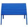 This item: Adirondack Blue Patio Ottoman