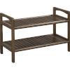 This item: Abingdon Antique Chestnut Bench