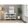 This item: White 2-Tier Bookcase