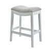 This item: Zoey White 25-Inch Counter Height Stool