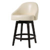 This item: Mansfield Ivory 25-Inch Counter Height Swivel Stool