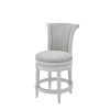 This item: Chapman Alabaster White Counter Height Swivel Barstool
