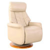 This item: Oxford Cobble Breathable Air Leather Manual Recliner