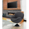 This item: Starke Anthracite Accent Chair