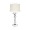 This item: White Powder Coat Table Lamp