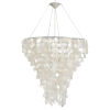 This item: Capiz Shell Two-Light Chandelier