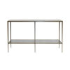This item: Bronze and Antique Mirror Console Table