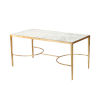 This item: Gold Leaf 40-Inch Coffee Table