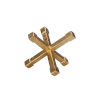 This item: Gold Leaf 9-Inch Decorative Object