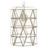 This item: Brassand Clear Glass Pendant